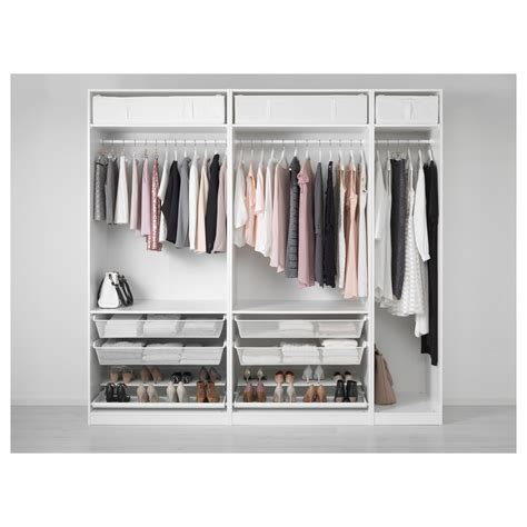 wardrobe accessories pax wardrobe white 250x58x236 cm ikea