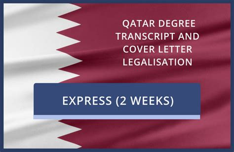 Mofa Qatar Attestation Charges by Qatar Degree Transcript And Cover Letter Legalisation