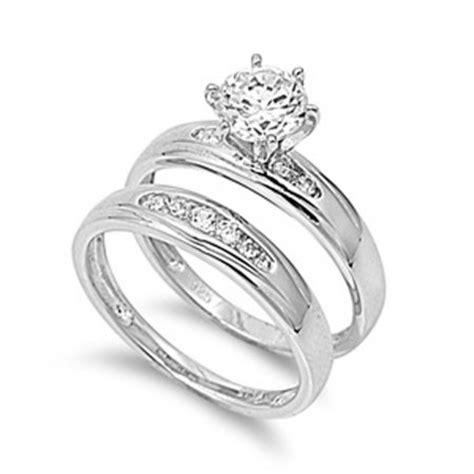 sterling silver designer engagement ring sizes 5 6 7 8 9