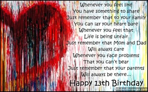 13th Happy Birthday Wishes Happy 13th Birthday Son Quotes Quotesgram