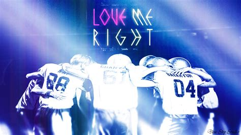 wallpaper exo love me right exo love me right by parkyuri666 on deviantart