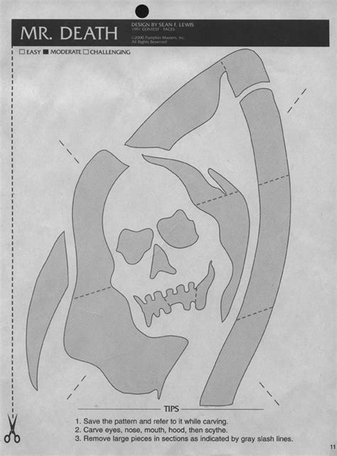 printable grim reaper pumpkin stencils stencils oct31st org