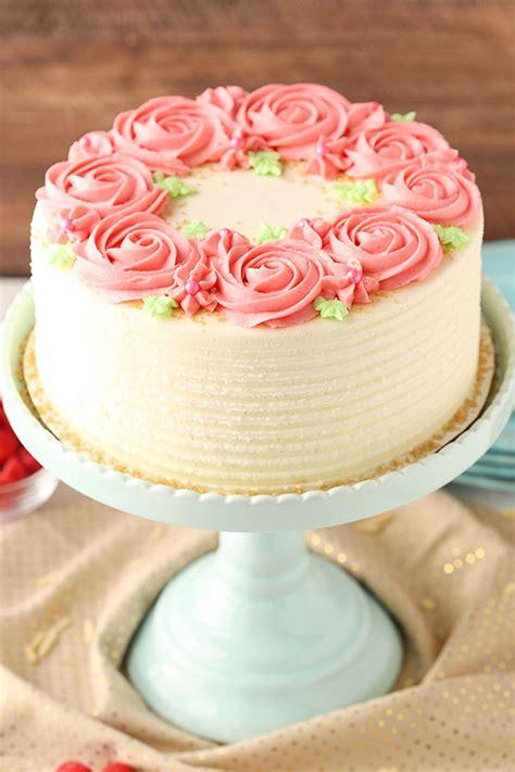 Raspberry Almond Layer Cake   Life Love and Sugar