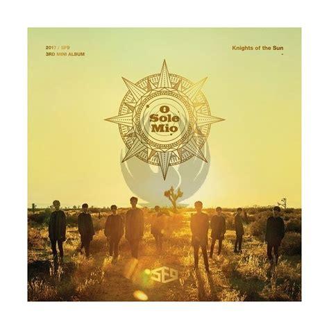 Cd Sf9 3rd Mini Album Knights Of The Sun sf9 knights of the sun chunichi comics