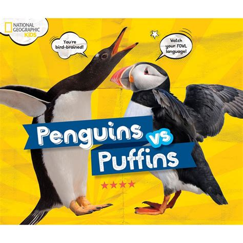 the puffin book of penguins vs puffins national geographic store