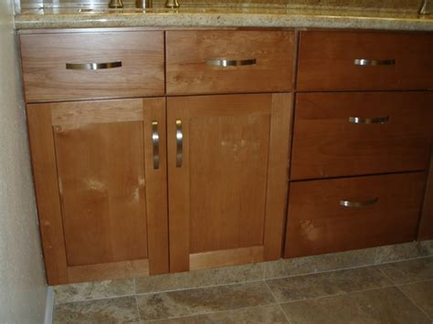 Custom Kitchen Cabinet Hardware In Stock Kitchen Cabinets With Custom Pulls Tropical Bathroom Hawaii By By Design Builders