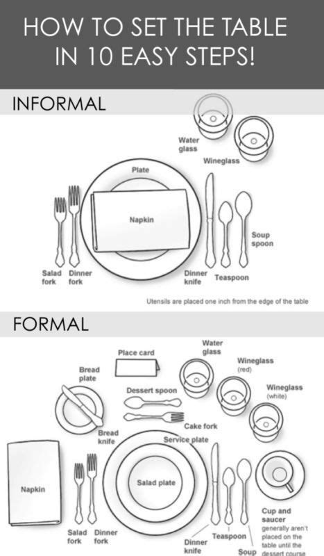 how to set a formal dinner table 632 best images about table settings on pinterest