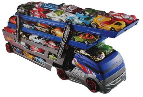 Wheels Turbo Hauler With 20 Diecast Multi Colour new wheels hw city turbo hauler truck rig plus 20 cars brand new car ages 3 ebay