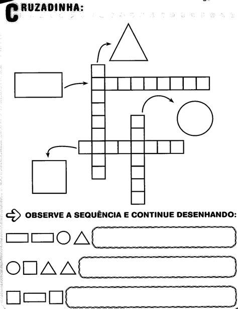 figuras geometricas atividades educação infantil educar x atividades de geometria plana ensino fundamental