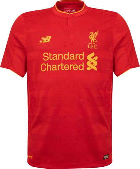 liverpool kit new liverpool kit liverpool fc shirt uksoccershop liverpool 16 17 home kit released footy headlines