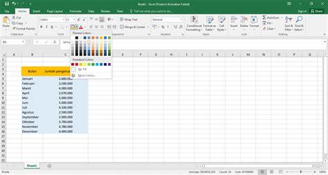 desain tabel database menggunakan excel mahasiswa belajar membuat grafik dengan menggunakan