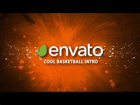 Cool Basketball Intro After Effects Template Youtube Basketball After Effects Template