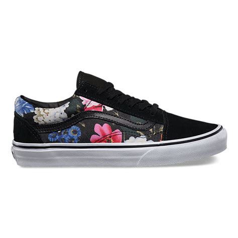 Vans Skool Flower floral skool shop womens shoes at vans