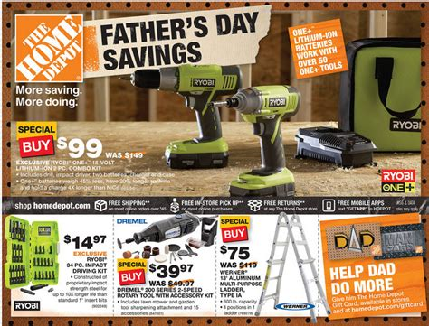 home depot ad deals 6 6 6 12 s day savings sale