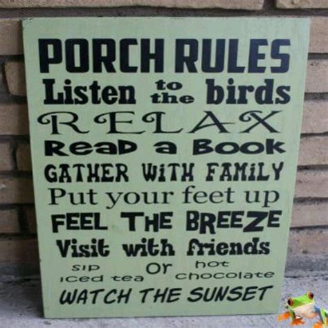 Porch Sign Sayings porch signs with quotes quotesgram