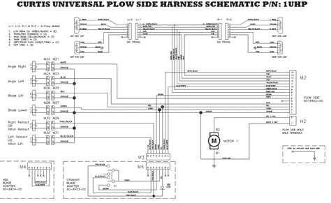 fisher plow light wiring diagram western snow plow light