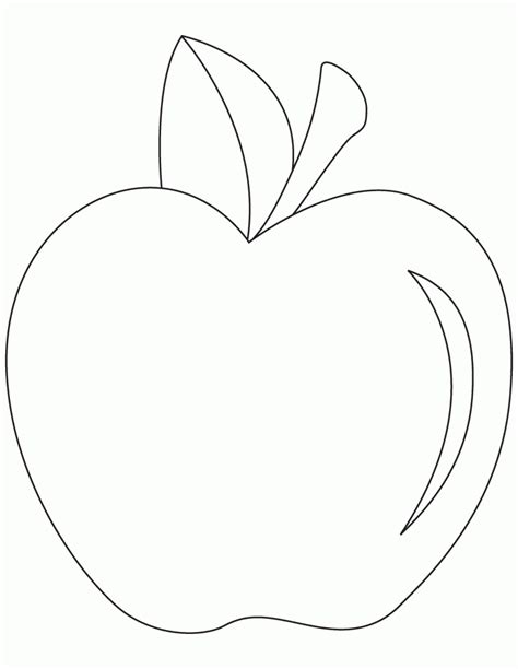 coloring apple clipart best printable apple coloring pages az coloring pages
