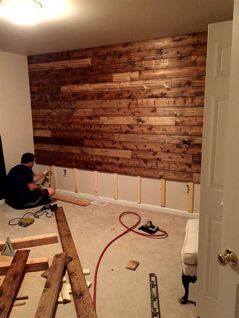 wood walls in house 25 best ideas about rustic office on pinterest rustic