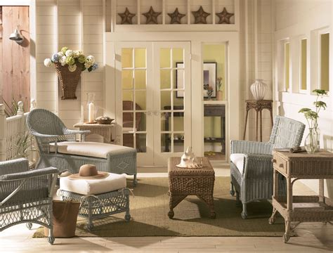 cottage style home decorating ideas cottage wicker furniture archives cottage home 174