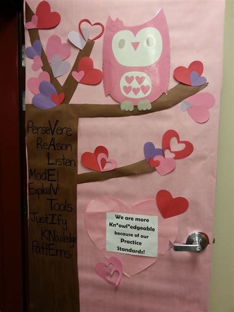 valentines classroom decorations 17 best ideas about owl classroom door on