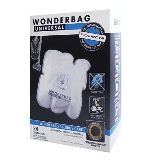 sac wonderbag allergy care universal rowenta x4 achat vente groupe seb 3118023