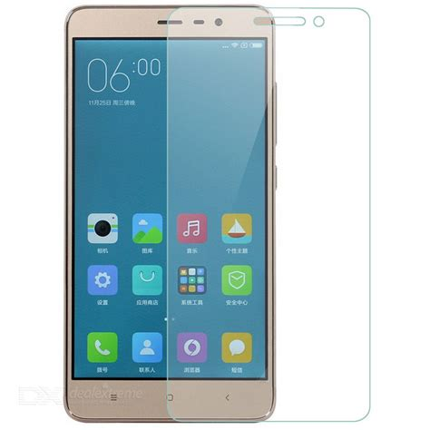 Tempered Glass Xiaomi Redmi Note 3 9h 0 26 Tempered Glass Screen Protector Guard For Xiaomi Redmi Note 3 Transparent Free