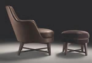 Armchairs Checked Fabric Guscio Flexform Armchair Guscio Flexform Armchairs