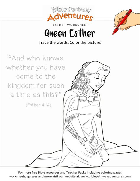 esther coloring pages esther copywork and coloring page printable scripture