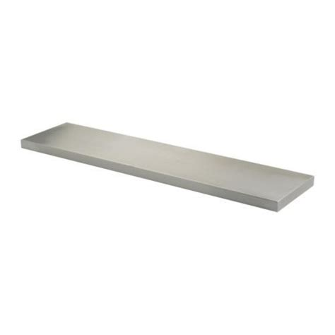 ekby mossby shelf stainless steel