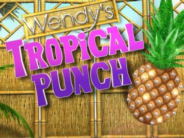 wendy s tropical punch sweepstakes - Wendy S Tropical Punch Giveaway