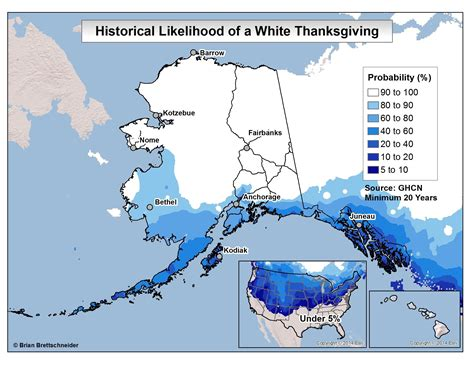 Alaska Judiciary Search Ask A Climatologist Dreaming Of A White Thanksgiving