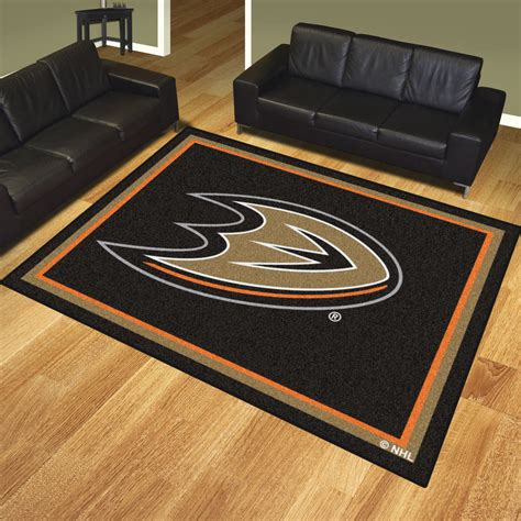 10 foot entry rug anaheim ducks ultra plush 8x10 area rug buy at khc sports