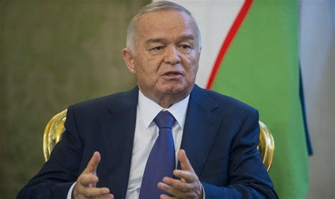 uzbek president islam karimov left placed his daughter guinara president of uzbekistan in quot critical quot condition