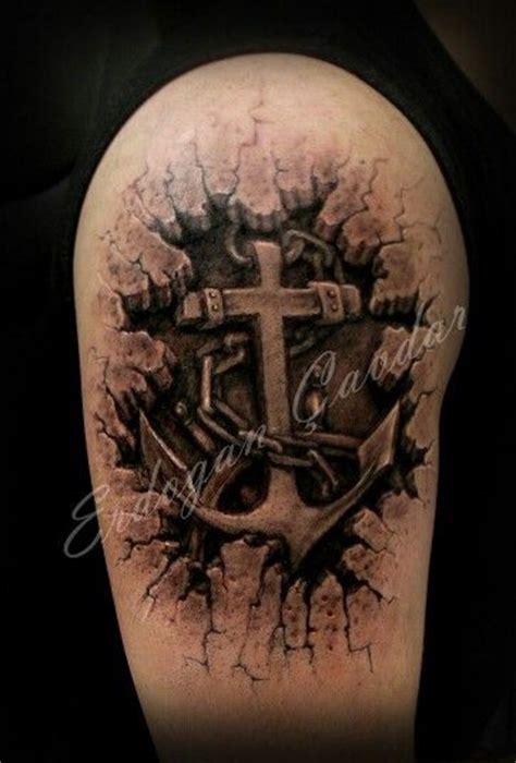 3d tattoo zeichnen 3d anchor tattoo tattoo pinterest zeichnen anker