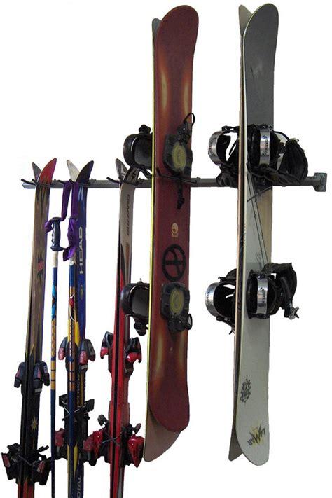 ski  snowboard combination storage rack