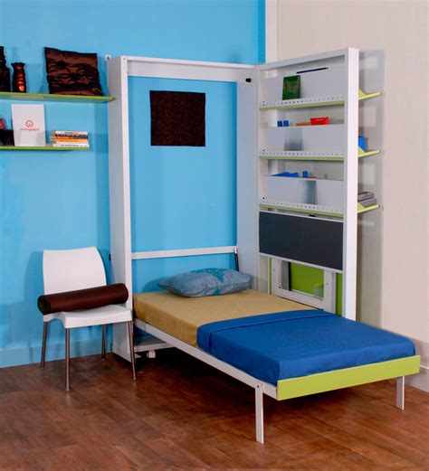 Bed Study Table by Spaceone Space Saving Single Bed Study Table By