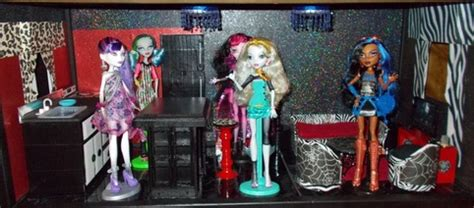 monster high dolls house for sale monster high dollhouse project my small obsession