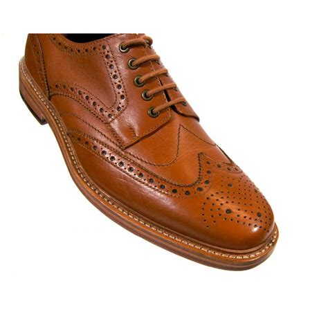 barbour rebeck brogues mens shoes from attic clothing uk