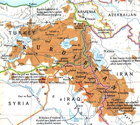 kurdistan map kurdistan where s that s