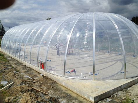 Etfe Pillow by Biodome Covered With Etfe Aquaculture Permaculture