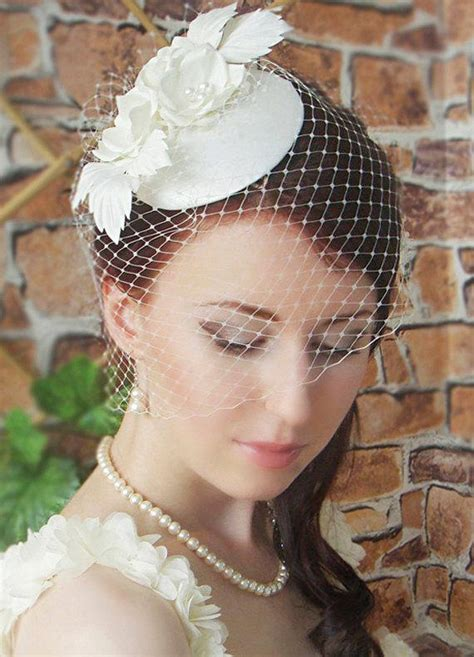 Vintage Bridal Hair Fascinators by Fascinator Bridal Fascinator Wedding Hat Wedding