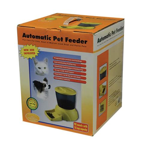 Finepet Pet Feeder Cat And automatic pet feeder for cats small dogs model pf 12 120 feeding water items auto