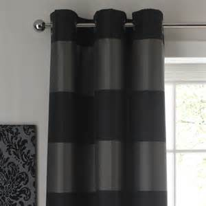 b q colours by b q amelie cross stripe eyelet curtains