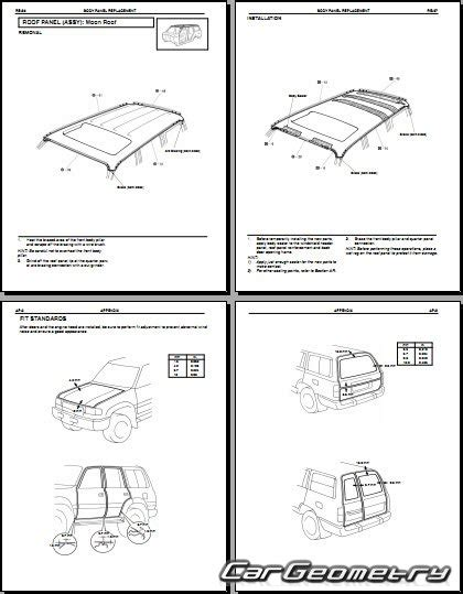 hayes auto repair manual 1997 toyota land cruiser parking system кузовные размеры toyota land cruiser 1991 1997 fzj80 hdj80 hzj80 collision repair manual