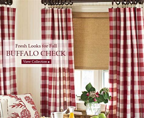 red buffalo check curtains buffalo check for the home pinterest