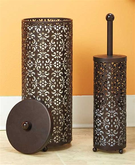 Decorative Toilet Paper Storage chocolate 2 decorative toilet paper brush holder