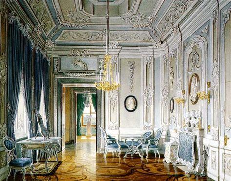 Rococo interior in gatchina