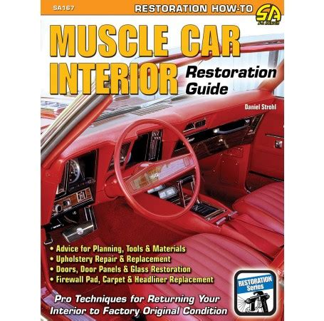 car upholstery books car upholstery interiors quot muscle car interior restoration