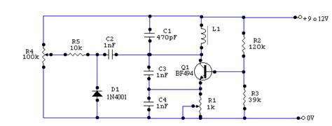 how does a varicap diode work vfo circuit diagram with varicap electronic circuits diagram