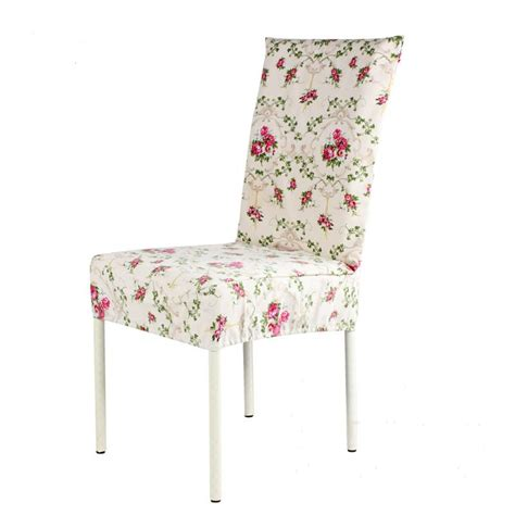 Canvas Dining Chair Covers Aliexpress Buy Top Sale Pastoral Style Chair Cover Printed Cotton Stoelen Hoes Home Dining